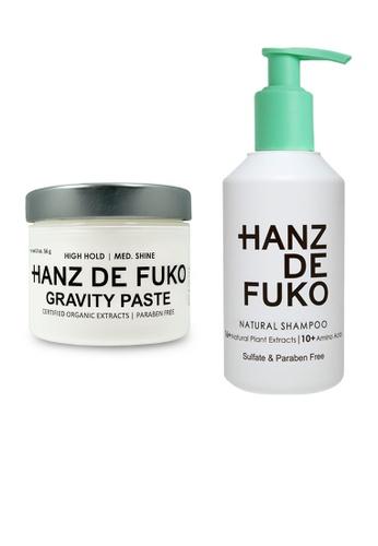 Hanz de Fuko Hanz de Fuko Natural Shampoo and Gravity Paste Set HA369BE12OKLSG_1