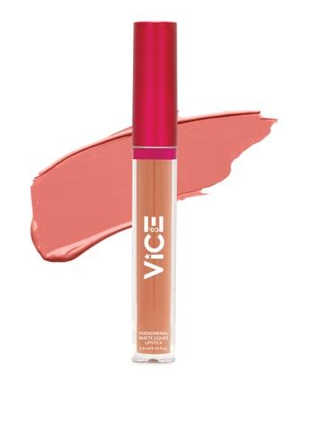 Vice Cosmetics pink Phenomenal Matte Liquid Lipstick Pony D1FE4BE3E0FC45GS_1