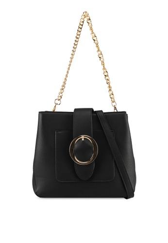 Perllini&Mel black Faux Leather Shoulder Bag DCBF8AC935A2FAGS_1