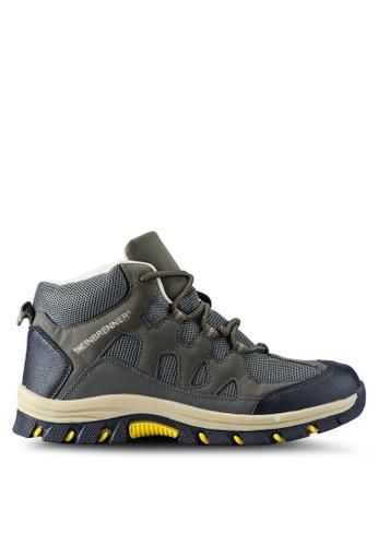 Weinbrenner green Hiking Boots B8F20SH8014A56GS_1