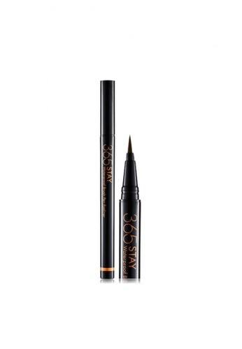 Beauty People brown 365 Stay Waterproof Brush Pen Eyeliner #Sentimental Brown BE881BE16MPZSG_1