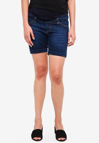 Envie De Fraise navy Maternity Short Jean Shorts 23743AA8CD3369GS_1