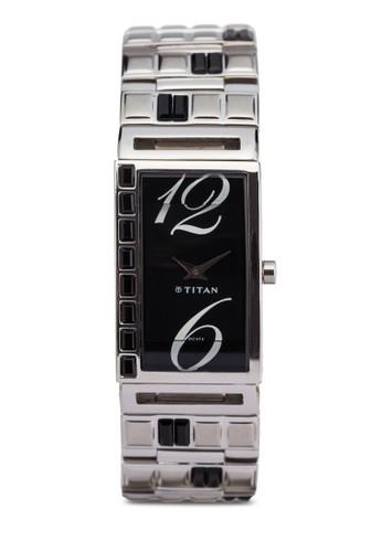 Tiesprit官網tan  2508SM02 雙指針時尚鏈飾方形錶, 錶類, 時尚型