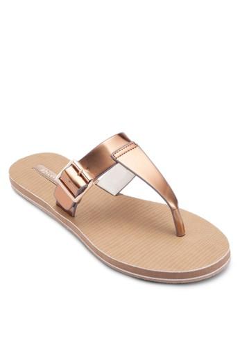 Szalora是哪裡的牌子ama 扣環夾腳涼鞋, 女鞋, 涼鞋
