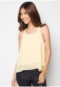 Two Layer Halter Top