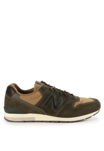 New Balance green 996 Outdoor Essence Lifestyle Sneakers NE382SH0WBKMID_1