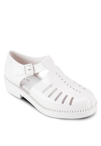 Aranha 79 16 esprit 高雄鏤空扣環厚底低跟休閒鞋, 女鞋, 鞋