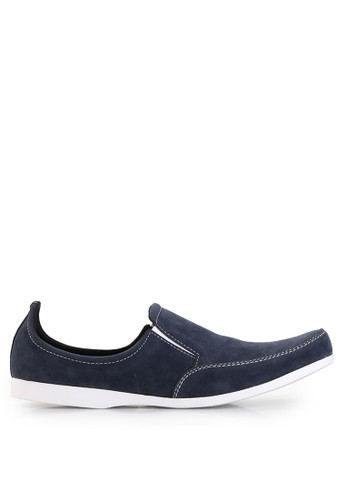 Dr. Kevin blue Loafers, Moccasins & Boat Shoes Shoes 13127 Suede DR982SH97UFAID_1
