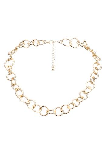 Pieces gold Fiffi Necklace 77490AC1C1DB6DGS_1