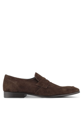 KG Kurt Geiger brown Gingers Suede Shoes KG303SH0SCL7MY_1