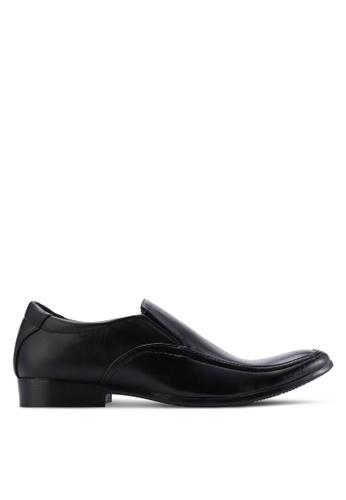 UniqTee black Apron Toe Shoes UN097SH99WMUMY_1
