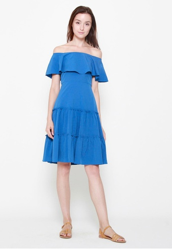 71e814014093 Buy QLOTHE Odette Off-shoulder Dress Online on ZALORA Singapore