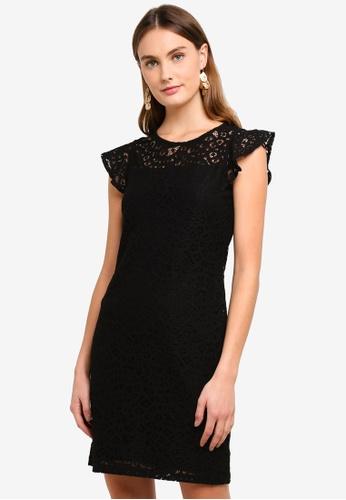 ESPRIT black Knitted Mini Dress 9201FAA180CCFEGS_1