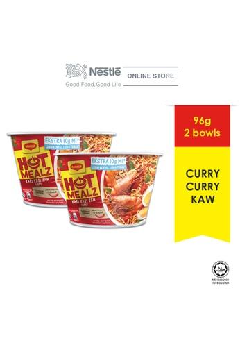 NESTLE MAGGI Hot Mealz Kari Kari Kaw Bowl 89g x2 bowls ExpDate:DEC'20 F3D79ES2110E5FGS_1