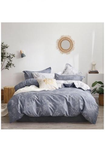 Bedding Day Bedding Day 100% Cotton Sateen 800TC Bed Set - Portia B7B5EHL58443B0GS_1