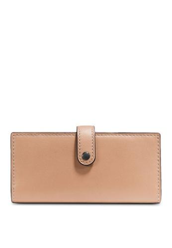 Coach beige Slim Trifold Wallet (cv) 5D559AC4B20452GS_1