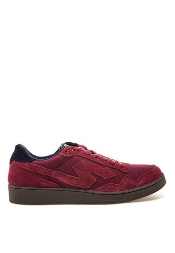 SONNIX red Barc  CS Men's Lace Up Sneaker Shoes SO490SH34NPXPH_1