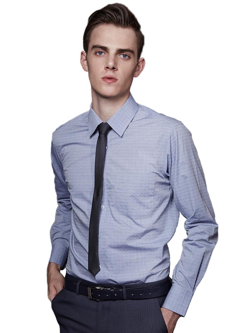 11036 Jacquard Blue Life8 Shirt Business Yuppie Blue dtq1xt