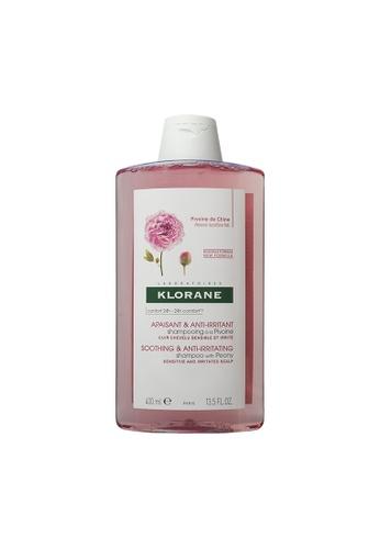 KLORANE Klorane Soothing & Anti-Irritating Shampoo 400ml (Pink) 112ACBE714089EGS_1