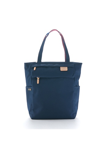 Harvest Label blue Harvest Label Lycee Style Tote - Navy 86E74ACA627CDCGS_1