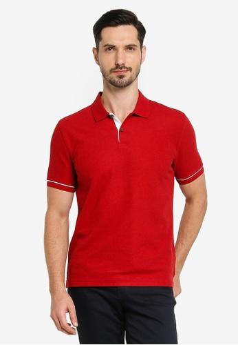 G2000 red Basic Polo Shirt EA082AAACA49E8GS_1