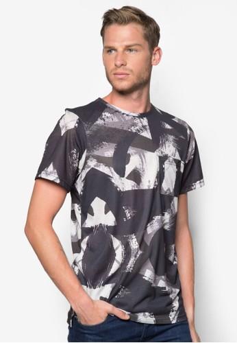 抽象水彩刷T 恤esprit home 台灣, 服飾, 服飾