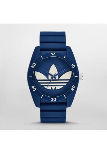 Santiago三葉草運動zalora退貨腕錶 ADH3138, 錶類, 運動型