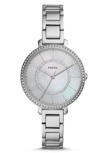Fossil silver Fossil Jocelyn - White Dial 36mm - Stainless Steel - Silver - Jam Tangan Analog Wanita - ES4451 75F18AC2F81BD0GS_1