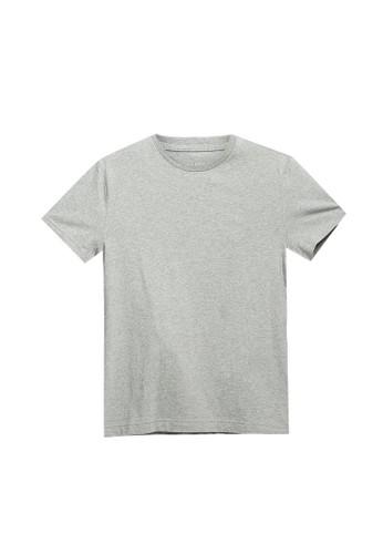 Banana Republic grey Authentic Crew Neck T-Shirt FE0EEAA781F0C4GS_1