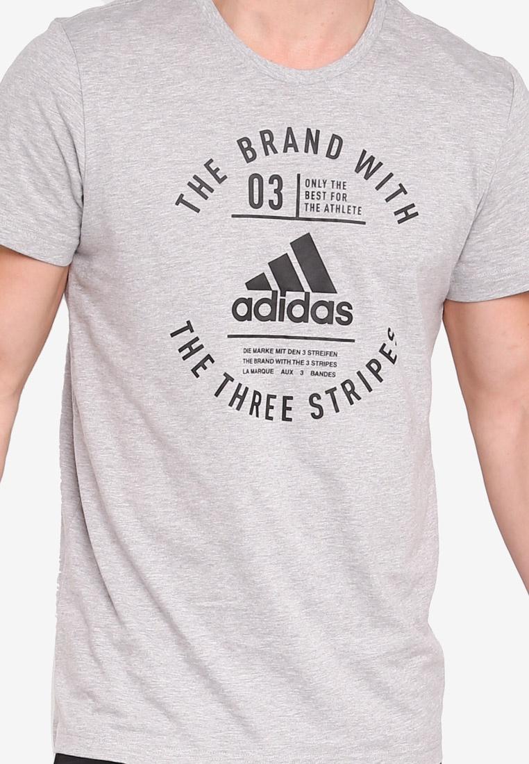 adidas emblem Heather adidas Medium Grey rrBZqw