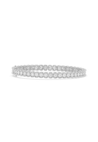 HEBE gold Sustainable Diamond Tennis Bracelet 62149AC914A87CGS_1