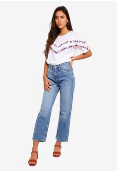 f44821dc 20% OFF TOPSHOP Mid Blue New Boyfriend Jeans S$ 96.90 NOW S$ 77.90 Sizes  25S 26S 28S