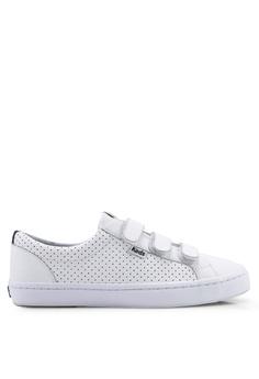 5604e8107c4 Keds white Tiebreak Perf Leather Sneakers FF642SH93E6B40GS 1