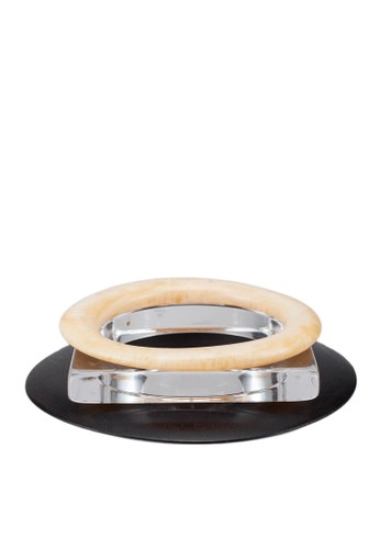 MANGO black Combined Bangle Pack AC534AC1565D44GS_1
