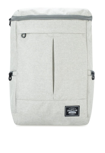 Chocollection grey CARTON Backpack 53458AC086EB43GS_1
