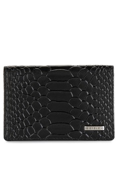 Image of Char Leather Wallet E 7861 Card