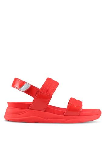 ALDO orange Eloima Flat Sandals 1B72CSHD3E8384GS_1