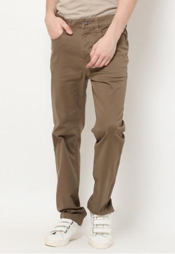 MGEE green Mgee Casual Pants 362AFAA5BEC7E9GS_1