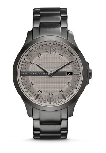 Armani Exchange grey Hampton Three Hand Watch AX2194 A535DAC00D4FA9GS_1