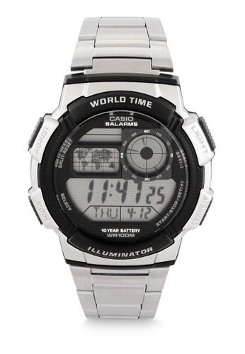 Casio black Men Digital Watches AE-1000WD-1AVDF 82003AC264B64FGS_1