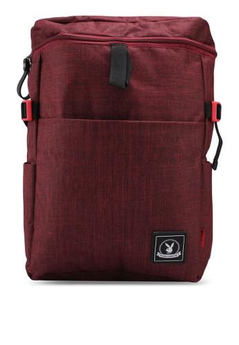 Playboy red Playboy Backpack 520E3AC4D93B1BGS_1