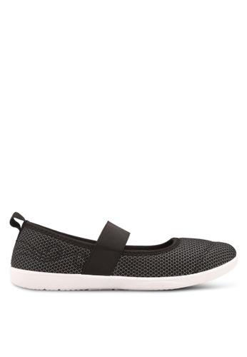 North Star 黑色 編織繞帶懶人鞋 1FAD1SHA362837GS_1