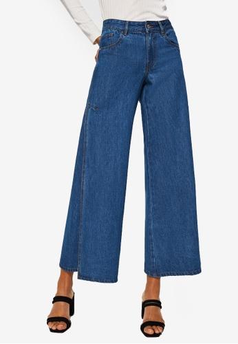 Mango blue Flared Elephant Jeans 5EEE0AA11A285BGS_1