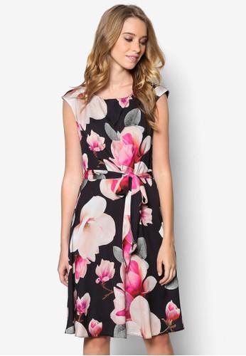花卉印花esprit 特賣修身洋裝, 服飾, 洋裝