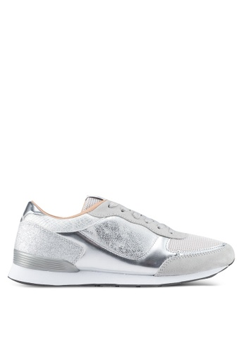 ONLY silver Sillie Mix Sneakers F593BSH5930524GS_1