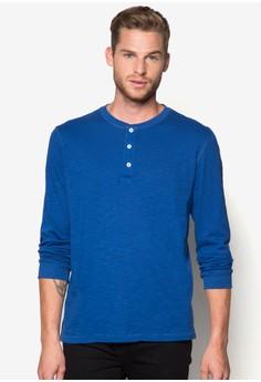 Henley Cotton T-Shirt
