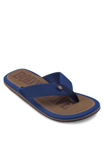 撞色夾腳拖鞋zalora鞋子評價, 鞋, 鞋