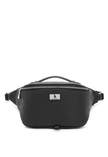 Swiss Polo black Logo Bum Bag BDD7DAC08C5E56GS_1