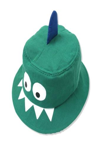 Organic mom green Organic Cotton Adam Dinosaur Hat 6B1A1KC1B8C7F2GS_1