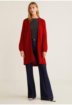 bda03ea1d4af87 Mango Chunky-Knit Cardigan RM 156.90. Sizes S M